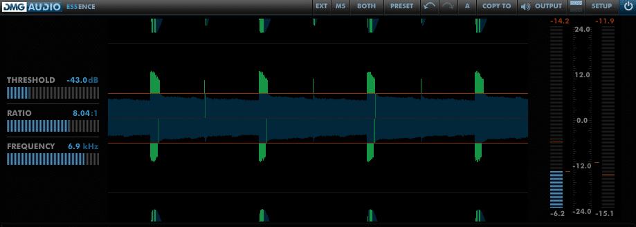 best mastering de-esser plugin. Essence