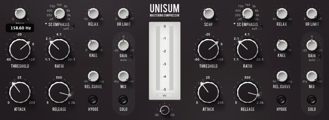 best mastering compressor plugin. Unisum